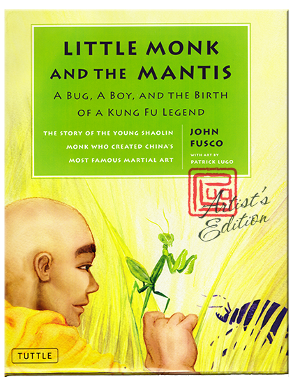 Little Monk and the Mantis book cover