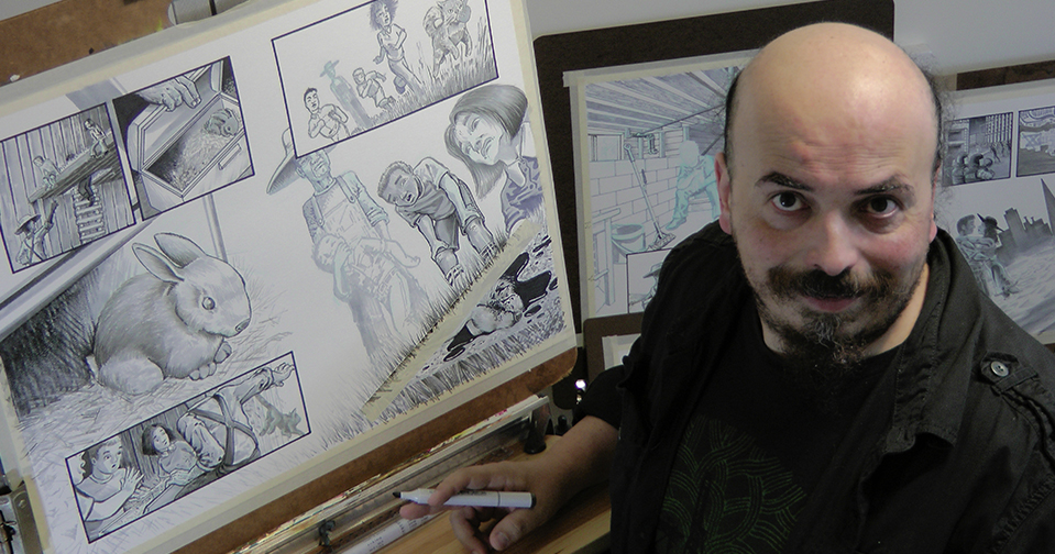 illustrator Patrick Lugo