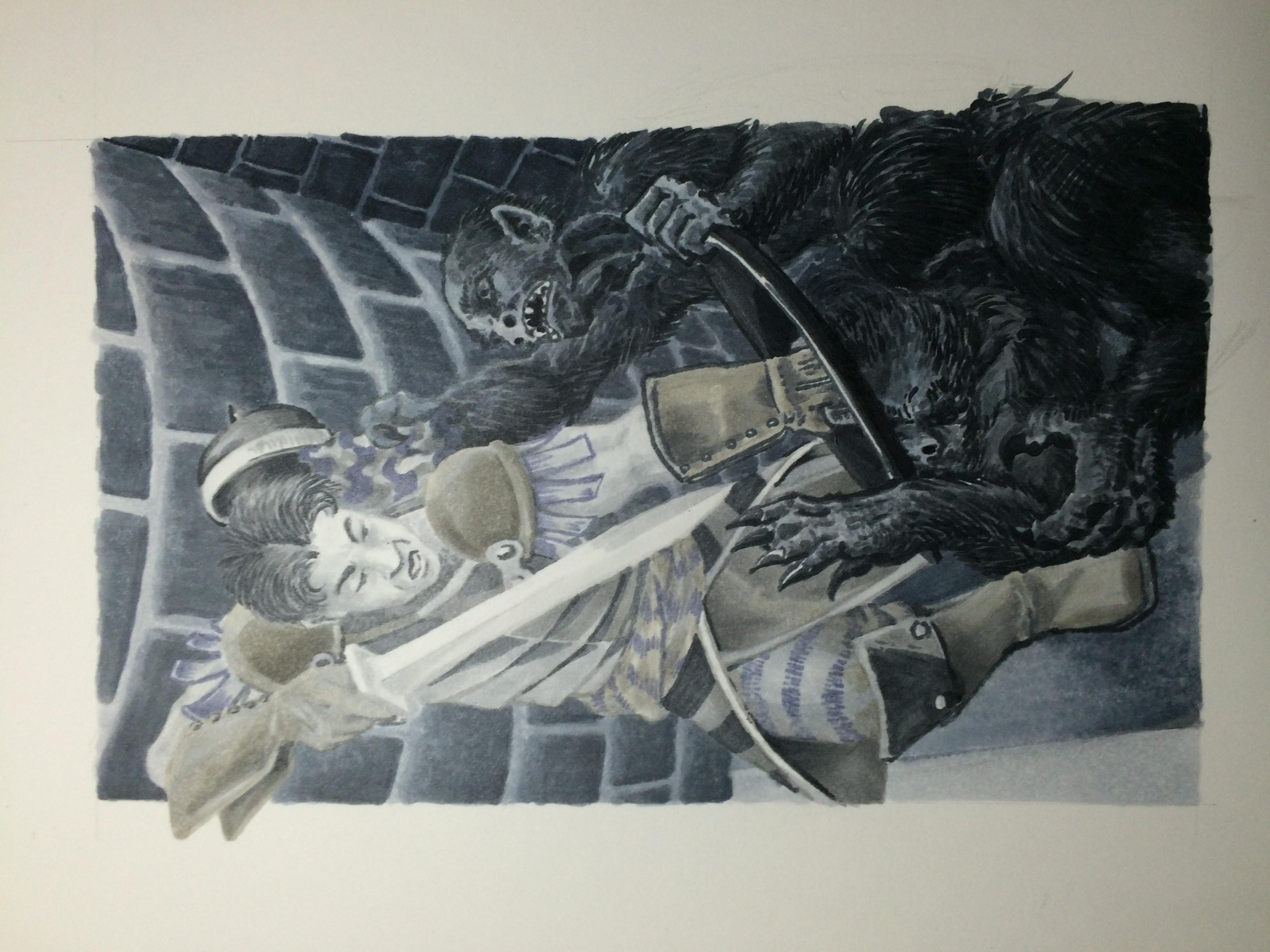 copic fantasy art